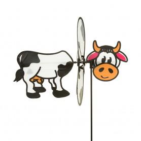 """Girouette """"Marguerite la Vache"""" - décoration d'extérieur pour jardin ou balcon - WinD-R"""