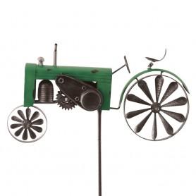 Eolienne Tracteur Vert