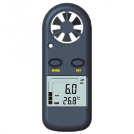Anémomètre - Thermomètre Digital de Poche