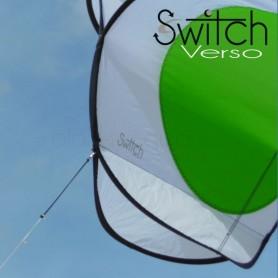 Cerf-volant Switch Verso, par Alain Micquiaux - Monofil acrobatique