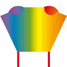 Pocket Sled Rainbow, cerf-volant sans armature