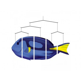 "Ocean Mobile Poisson ""Blue Tang"""