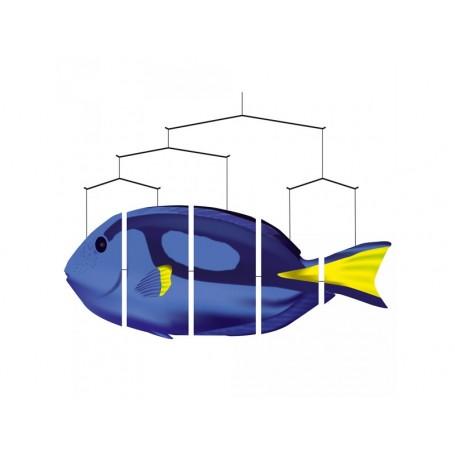 """Ocean Mobile Poisson """"Blue Tang"""""""