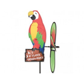 Girouette Macaw 5 o'clock Somewhere