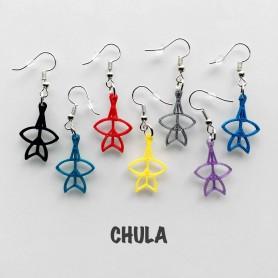 """Boucles d'Oreilles Cerfs-Volants """"Chula"""""""
