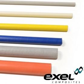 Tube creux en fibre de verre EXEL