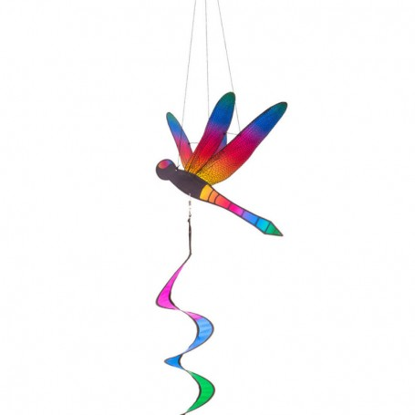 """Twist"" Dragonfly Natural Rainbow - Décoration à suspendre"