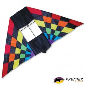 Cerf-volant Box Delta Kite - Rainbow Ray - WinD-R