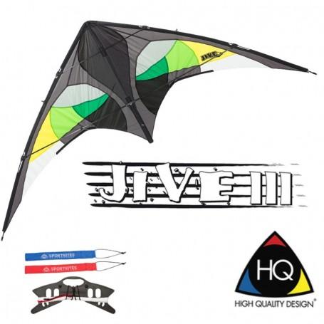 Cerf-volant HQ Kites Jive 3 Citrus - WinD-R