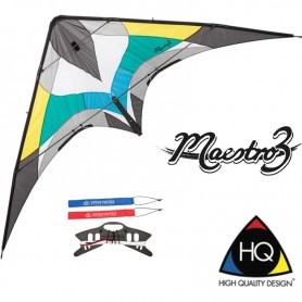 Cerf-volant acrobatique Maestro 3 Hq kites - WinD-R