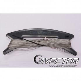 Set de lignes Vector pour la pratique du cerf-volant de sport