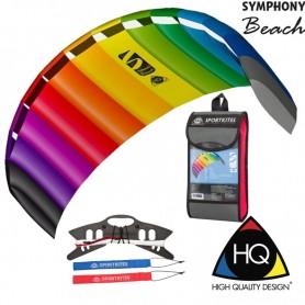 Cerf-volant de sport Symphony beach HQ Kites. WinD-R shop