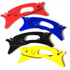 Winder - Plaquette ergonomique pour le rangement des lignes, équipée d'un élastique.