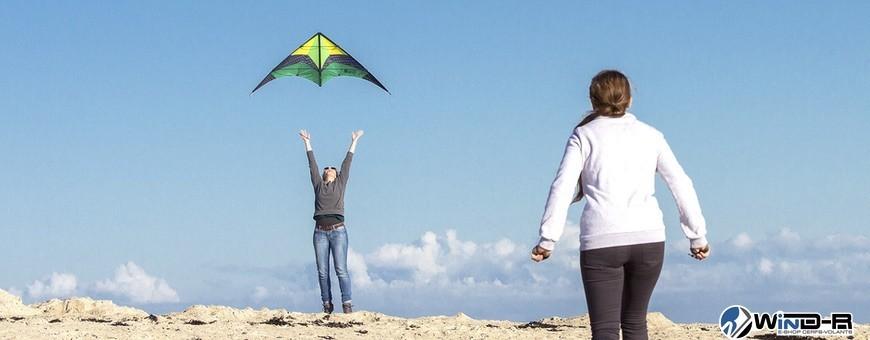 WinD-R : Cerf-volants de sport pour l'initiation au pilotage