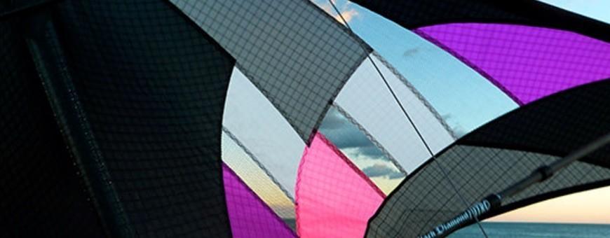 WinD-R : Cerfs-volants de sport pilotables et acrobatiques Ventilés