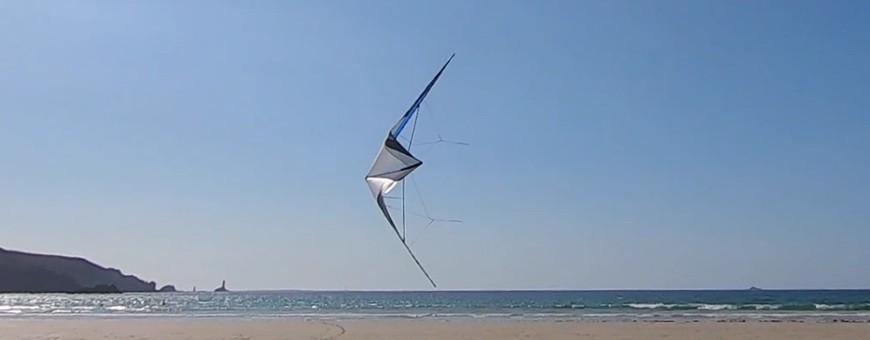 WinD-R : cerfs-volants de sport pilotables et acrobatiques en 2 lignes